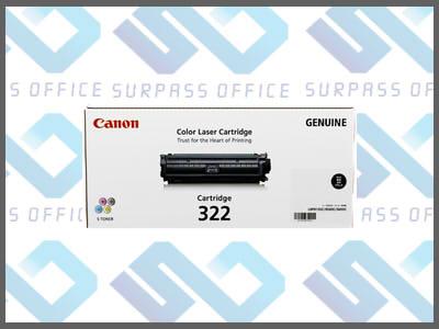 キャノン純正トナーカートリッジ322(K)ブラックLBP-9100C/9200C/9500C/9510C/9600C/9650Ci