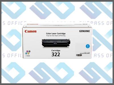 キャノン純正トナーカートリッジ322(C)シアンLBP-9100C/9200C/9500C/9510C/9600C/9650Ci