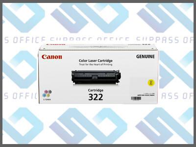 キャノン純正トナーカートリッジ322(Y)イエローLBP-9100C/9200C/9500C/9510C/9600C/9650Ci