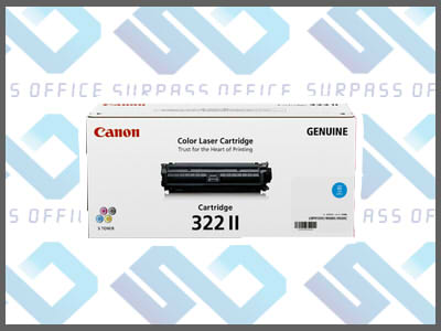 キャノン純正トナーカートリッジ322II(C)シアンLBP-9100C/9200C/9500C/9510C/9600C/9650Ci