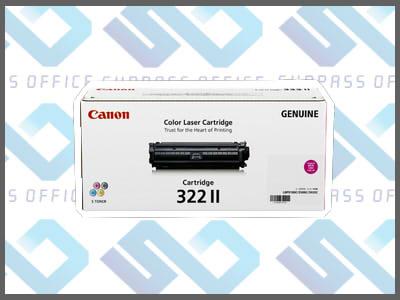 キャノン純正トナーカートリッジ322II(M)マゼンタLBP-9100C/9200C/9500C/9510C/9600C/9650Ci