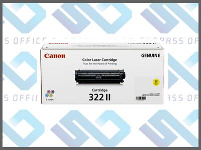 キャノン純正トナーカートリッジ322II(Y)イエローLBP-9100C/9200C/9500C/9510C/9600C/9650Ci