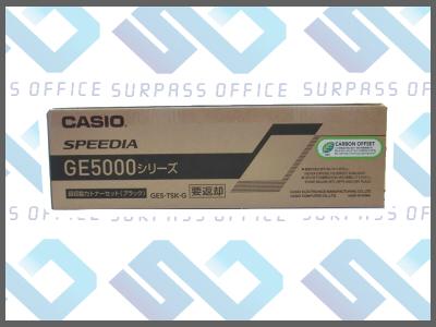 カシオ純正品GE5-TSK-G ブラックトナーGE5000/GE5000-SC/GE5000-YPO