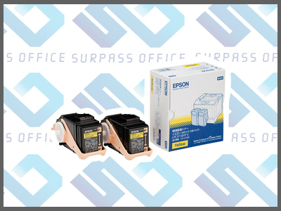 エプソン純正LPC3T18YPV Mサイズ(2本入)(イエロー)LP-S7100/S7100R/S7100RZS7100Z/S8100/S8100PS
