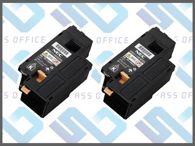 リサイクルトナーPR-L5600C-19(K)(2本入)カラーマルチライター5600C/5650C/5650F