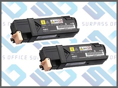 NEC純正PR-L5700C-16(Y)(2本入)カラーマルチライター5700C/5750C