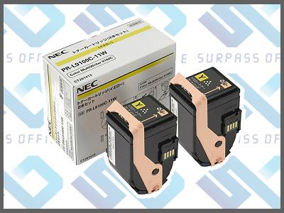 NEC純正PR-L9100C-11W(Y)(2本入)カラーマルチライター9100C