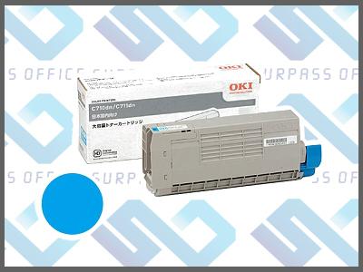OKI純正TNR-C4GC2 (シアン)/C711dn/C711dn2