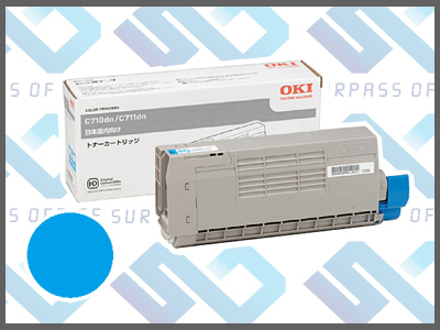 OKI純正TNR-C4GC1 (シアン)/C711dn/C711dn2