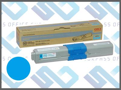 OKI純正TNR-C4HC1 (シアン)/C510dn/C530dn/MC561dn