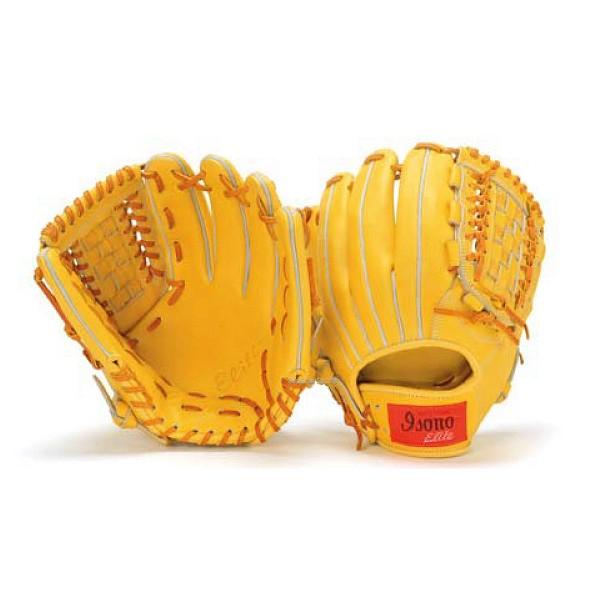 イソノ isono 野球 軟式グローブ グラブ 一般 ELITE SERIES オールラウンド用 G-1800 軟式用 M号 M球 野球部 軟式野球 大人 野球用品 スワロースポーツ
