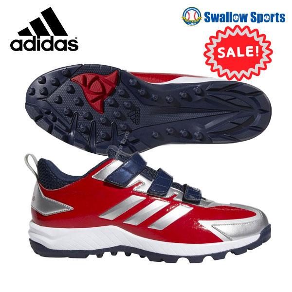 【3/1全品ポイント2倍 一部20倍!】 【あす楽対応】 adidas アディダス 野球 トレーニングシューズ 野球 ベルクロ マジックテープ アディピュア TR DB3470 靴 シュ