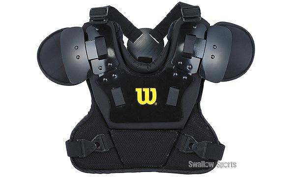 ウィルソン 軟式用アンパイアチェストプロテクター WTA3250RB 審判用品 wilson 野球部 野球用品 スワロースポーツ