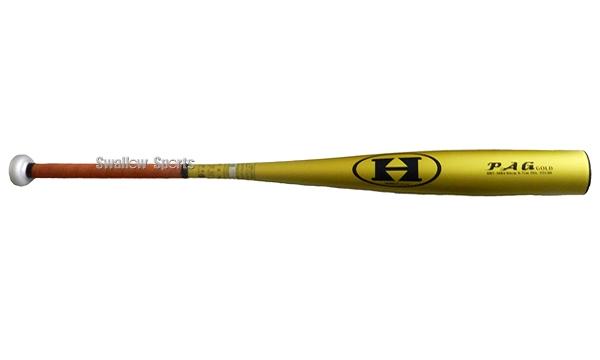 ハイゴールド 硬式バット金属 高校野球対応 硬式バット 硬式金属バット 900g PAGシリーズ ゴールド 83cm HBT-3083G 硬式用 金属バット HI-GOLD 合宿 野球部 秋季大会 野球用品 スワロースポーツ