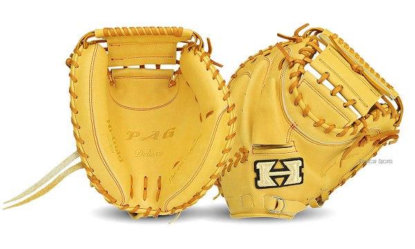 ハイゴールド 硬式 キャッチャーミット PAG DELUXE PAG-203M キャッチャーミット 硬式 合宿 野球部 高校野球 秋季大会 野球用品 スワロースポーツ