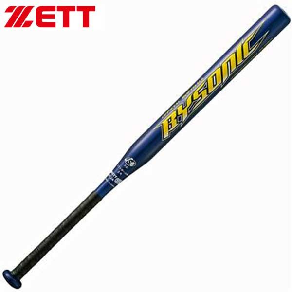 ゼット ZETT ソフトボール用バット 2号 カーボン バット バイソニック ゴム対応 BCT52740 野球部 秋季大会 野球用品 スワロースポーツ