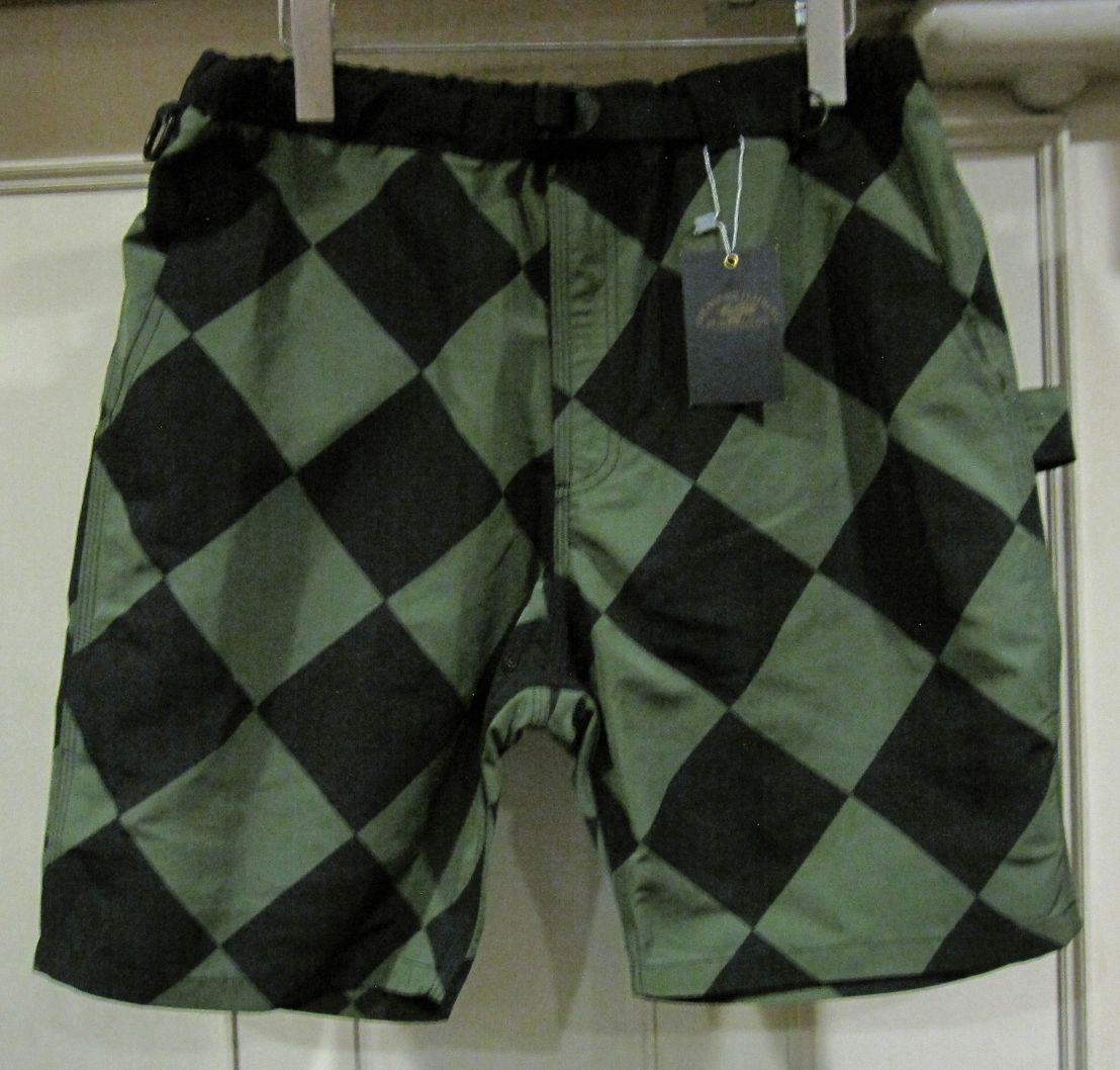 Vin&Age Polyester Short Pnats - Green