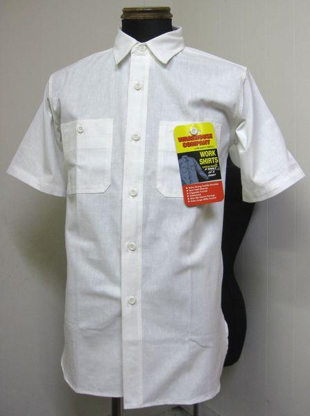 WAREHOUSEウェアハウスLot 3080 半袖シャンブレイ・ワークシャツ Lot 3080 CHAMBRAY TRIPLE STITCH S/S WORK SHIRTS -NON WASH OFF