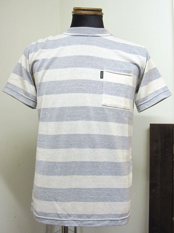 ウエストライド(WESTRIDE)CAROLINA SHORT SLEEVE TEE GRY/CRM