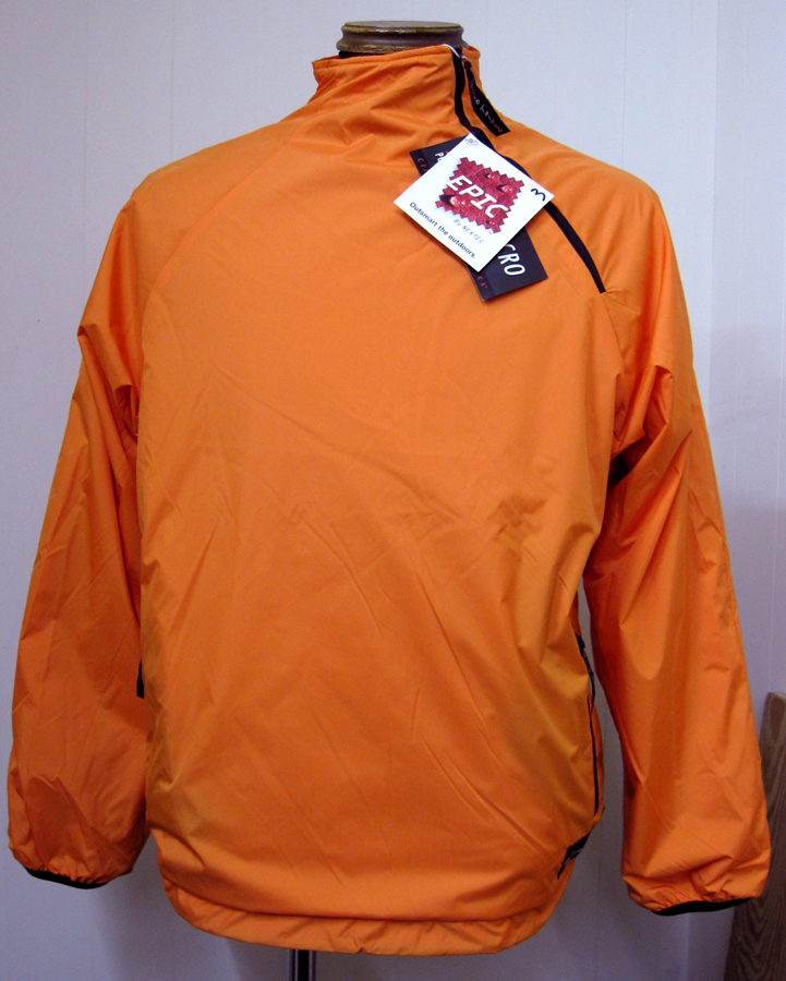 DEADSTOCK品ワイルドシングス(Wildthings)EpicPolartecナイロンPulloverJacket -Orange×Red【送料無料】