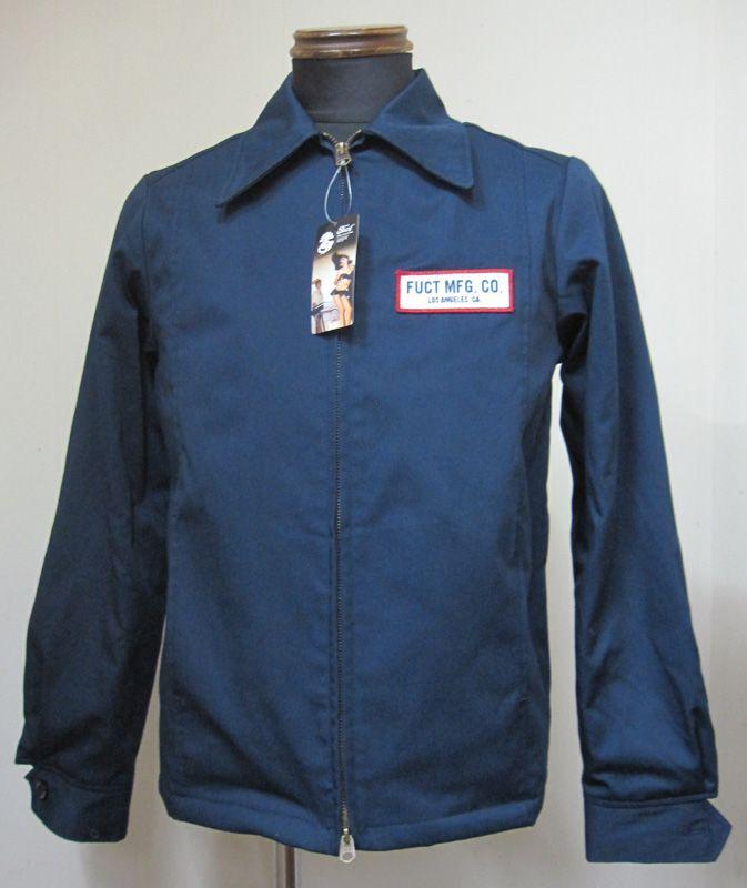 FUCT(ファクト) FUCT MAN WORK JACKET 3515(ワークジャケット)-NAVY【送料無料】