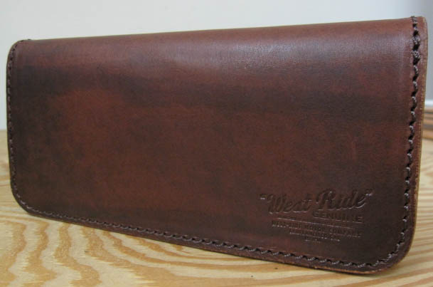 WESTRIDE(ウエストライド)WESTRIDE ORIGINAL-LARRY SMITH L.WALLET-COWHIDE BROWN 【送料無料】