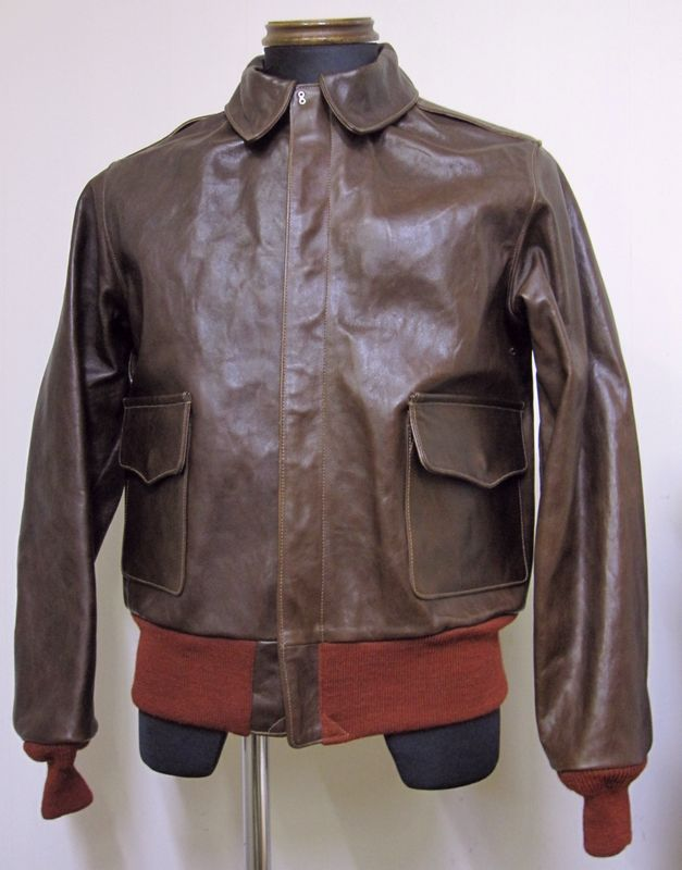 バズリクソンズ(BuzzRickson's)A2ジャケット‐無地タイプBR80367 【送料無料】