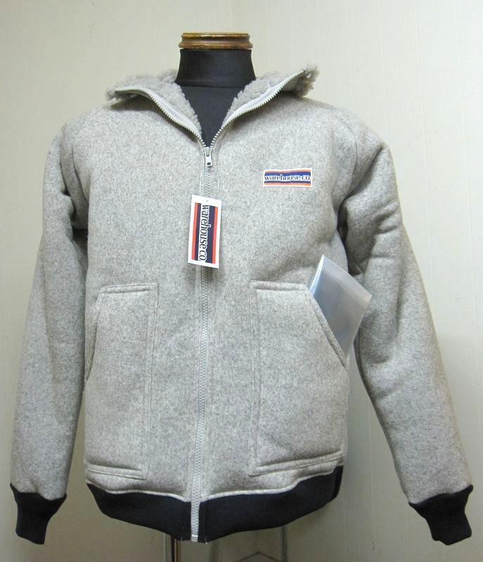 ウェアハウス(WAREHOUSE)Lot.2130 Classic Pile Jacket クラシックパイル・ジャケット A-typeグレイ【送料無料】