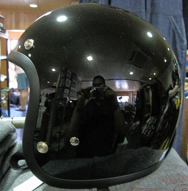 GREASER HELMETS 60's PLANEプレーンヘルメット・ブラック SG規格(全排気量)対応【送料無料】