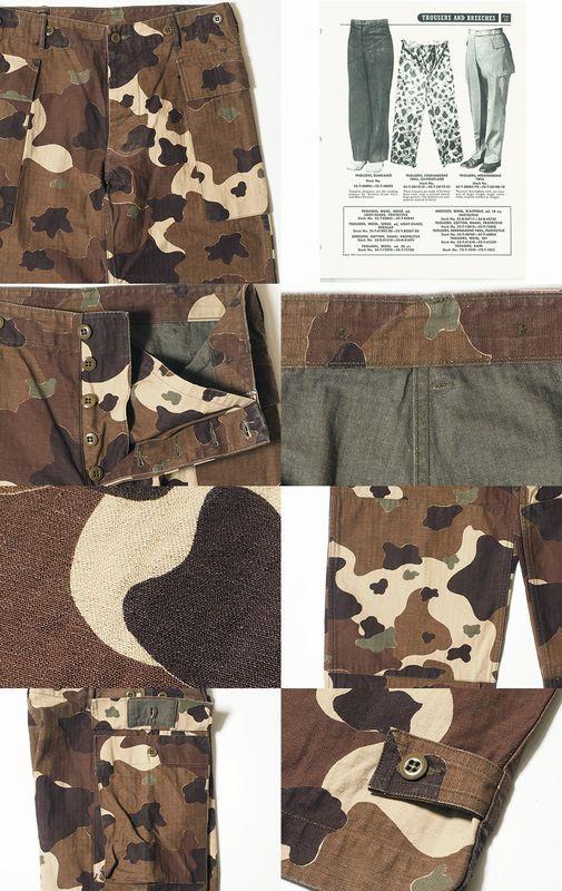 ウェアハウス(WAREHOUSE)Lot 1099 U.S.ARMY CAMOUFLAGE CARGO PANTS - NON WASH
