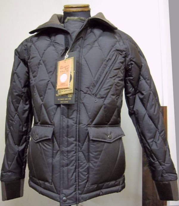 ウエストライド(WESTRIDE)ALL NEW RACING DOWN JKT2 WIND GUARD -BLK/BRN