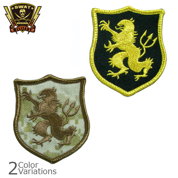 Military badge seals gold team Deven GL patch (PP-303/305)