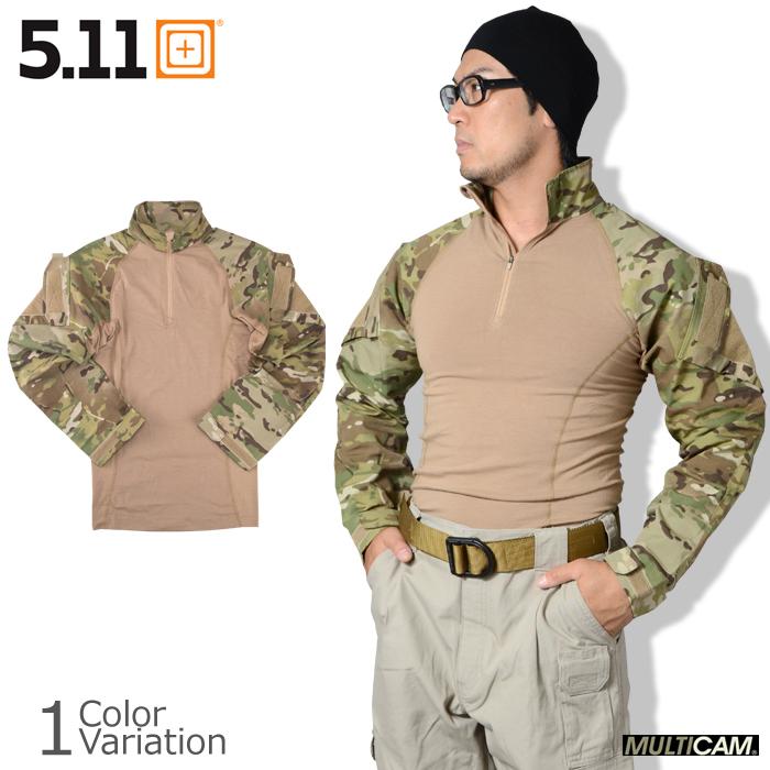5.11 TACTICAL (ファイブイレブン) MultiCam TDU Rapid Assault Shirt マルチカム ラピッド アサルト シャツ コンバット 【正規取扱】72158