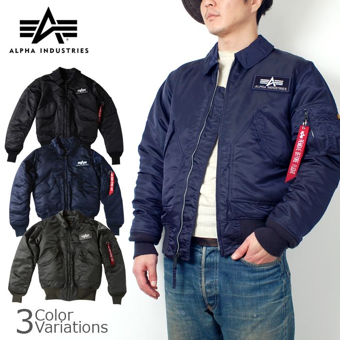 new arrival 75240 6df3e ALPHA INDUSTRIES INC.( Alpha industries ) CWU-45/P tight nylon jacket