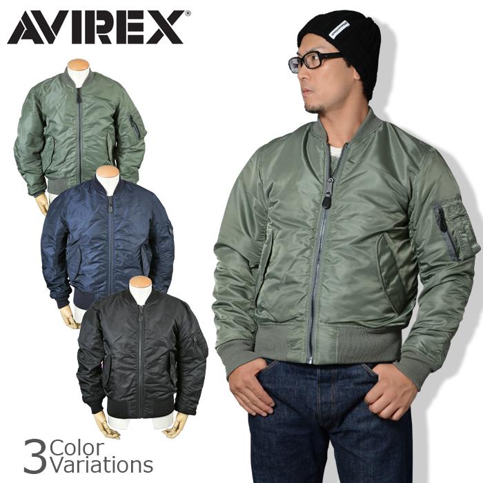 AVIREX(アビレックス) MA-1 COMMERCIAL フライトジャケット エムエーワン コマーシャル ボンバージャケット 6132077