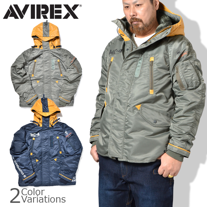 AVIREX(アビレックス) SHORT N-3B REMODEL ショート N-3B リモデル 6192158