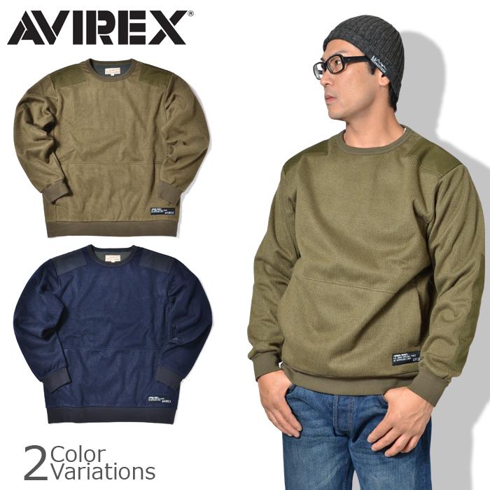 AVIREX(アビレックス) ウインドガード コマンドセーター WIND GUARD COMMAND KNIT 6193483