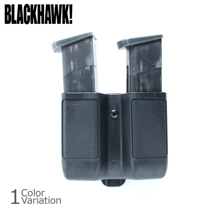 BLACK HAWK!(ブラックホーク) Double Mag Case Double Stack ダブル マグ ケース ダブルスタック ピストル 410610PBK