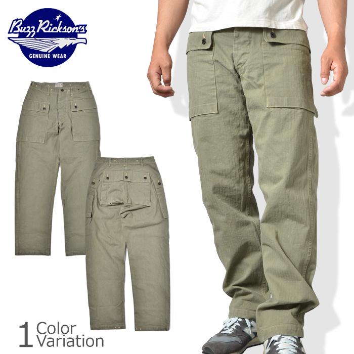 Buzz Rickson's(バズリクソンズ) USMC HERRING BONE PANTS HBT ヘリンボーン パンツ BR40435