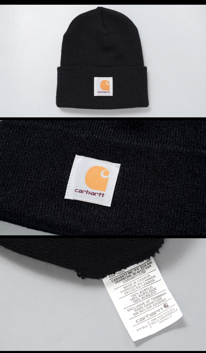 c58349d393bbd Is the amecasifashion brands  Carhartt  knit Cap. Logo is sewn into the  back Division. Use the acrylic material feels good. With a moderately soft  and ...