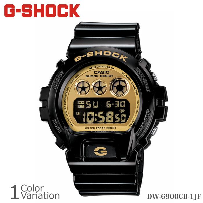 CASIO(カシオ) G-SHOCK DW-6900-CB/NB/SB/PL 樹脂バンド