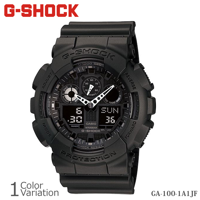CASIO(カシオ) G-SHOCK GA-100-1A1JF/GA-100SD-8AJF 樹脂バンド