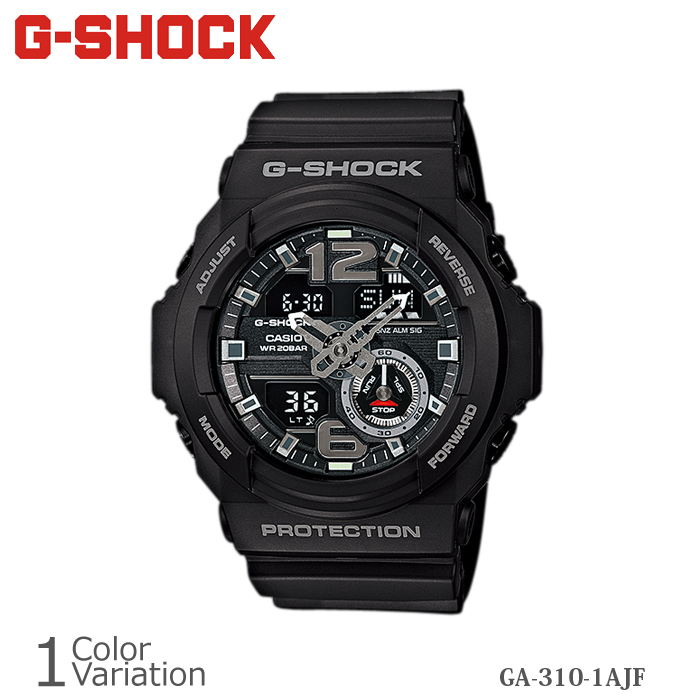 CASIO(カシオ) G-SHOCK GA-310-1AJF 樹脂バンド 【正規1年保証】