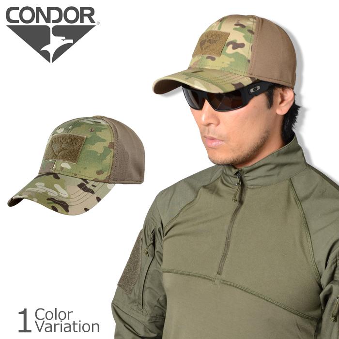 CONDOR OUTDOOR (condor outdoor) Flex Tactical Cap with MultiCam  フレックスタクティカルキャップ 161,080-008
