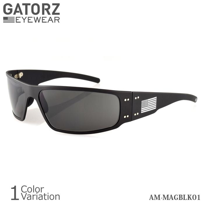 GATORZ(ゲイターズ) PATRIOT MAGNUM パトリオット マグナム サングラス 【正規取り扱い】AM-MAGBLK01