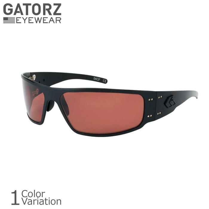 GATORZ(ゲイターズ) MAGNUM 2.0 Blackout Tactical ROSE Polarized マグナム アジアンフィット ブラックアウト タクティカル サングラス ローズ ポラライズド(偏光)【正規取り扱い】MAG2BLK09PMBP