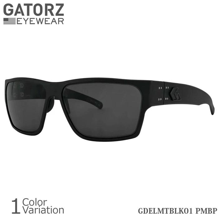 GATORZ(ゲイターズ) DELTA Blackout Polarized デルタ ブラックアウト ポラロイズド (偏光)サングラス【正規取り扱い】GDELMTBLK01PMBP