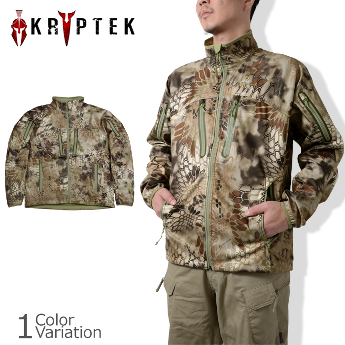 KRYPTEK(クリプテック) Dalibor Lightweight Soft Shell Jacket ダリボル ライトウエイト ソフトシェル ジャケットCUKR13C-J6