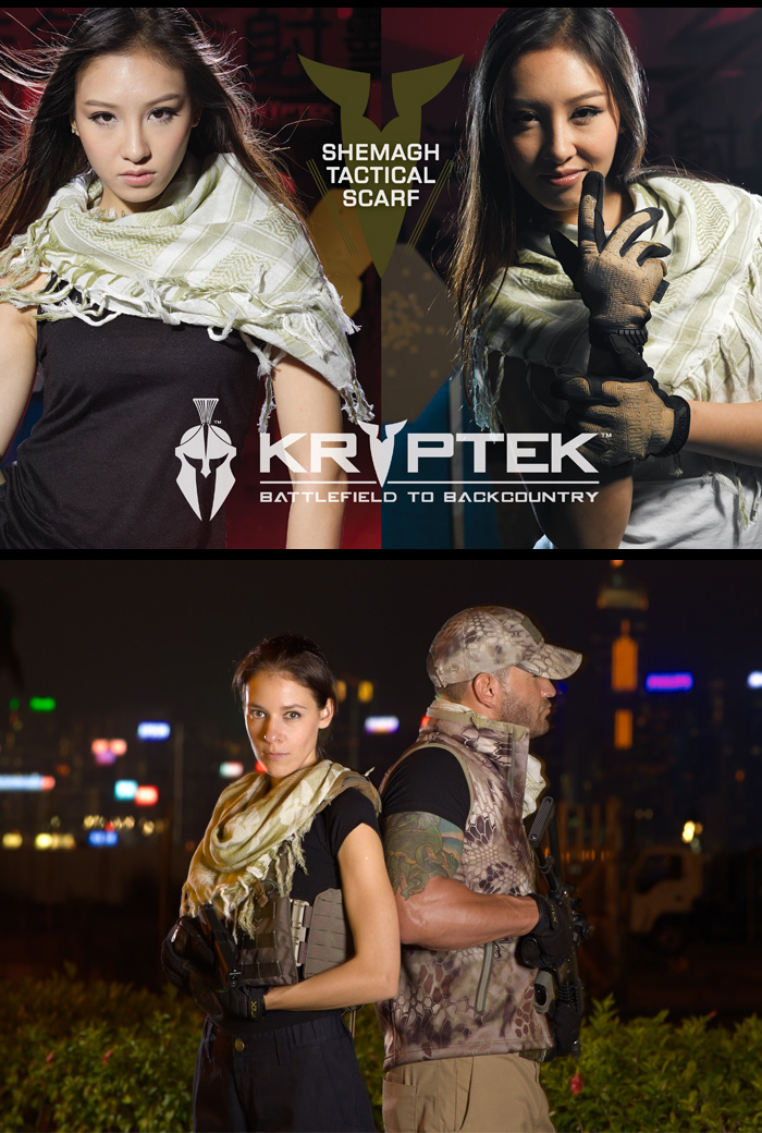 KRYPTEK (cryptic) Shemagh Tactical Scarf chemag tactical scarf CUKR13-A1
