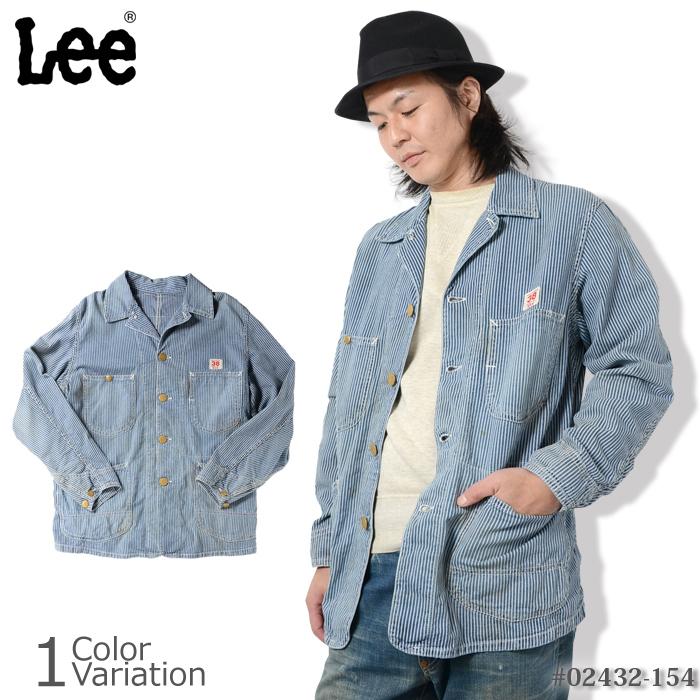 Lee(リー) THE ARCHIVES 30s LOCO JACKET(アーカイブス ロコジャケット ヒッコリーストライプ) #02432-154